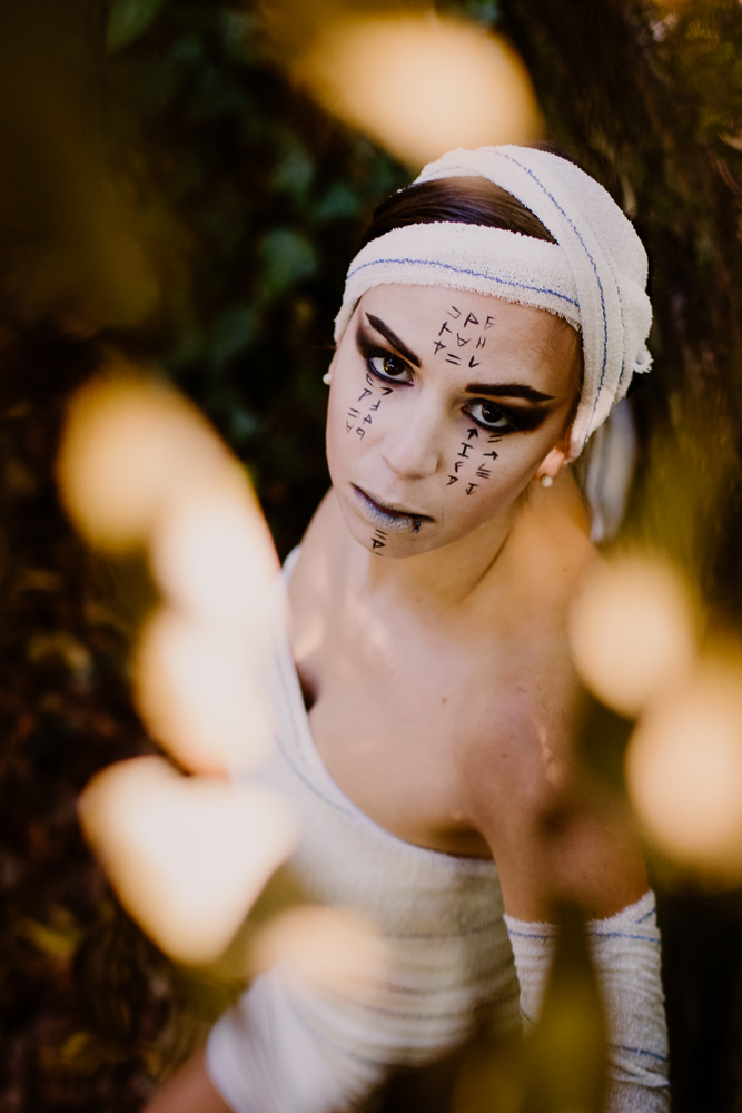 Photo Momie Femme Costume Halloween
