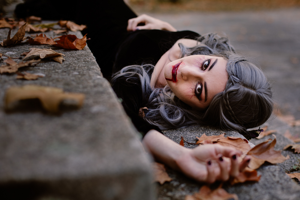 Vampire Photo Portrait Femme