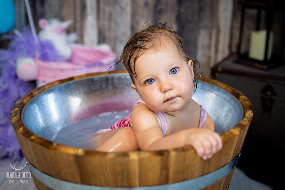 photographe bébé bain Nantes