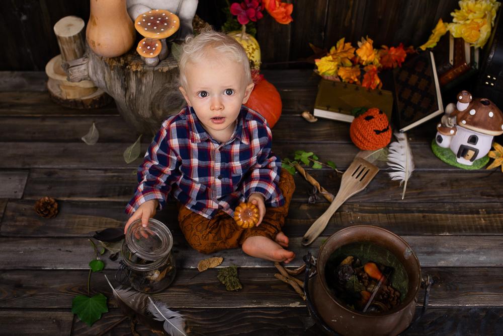 photographe bébé Nantes Automne
