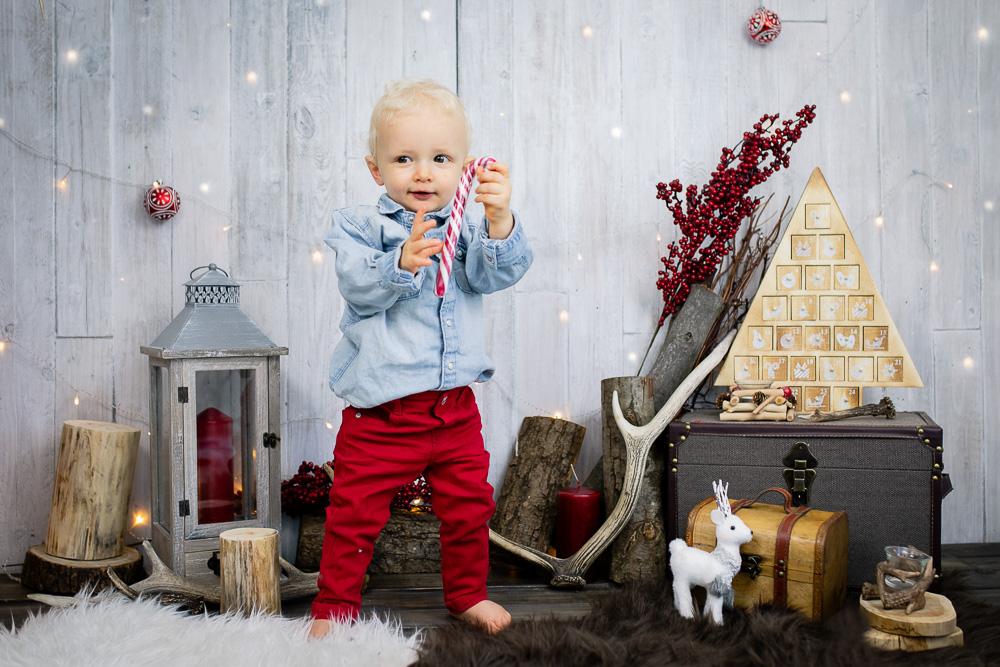 photographe Noël bébé Nantes