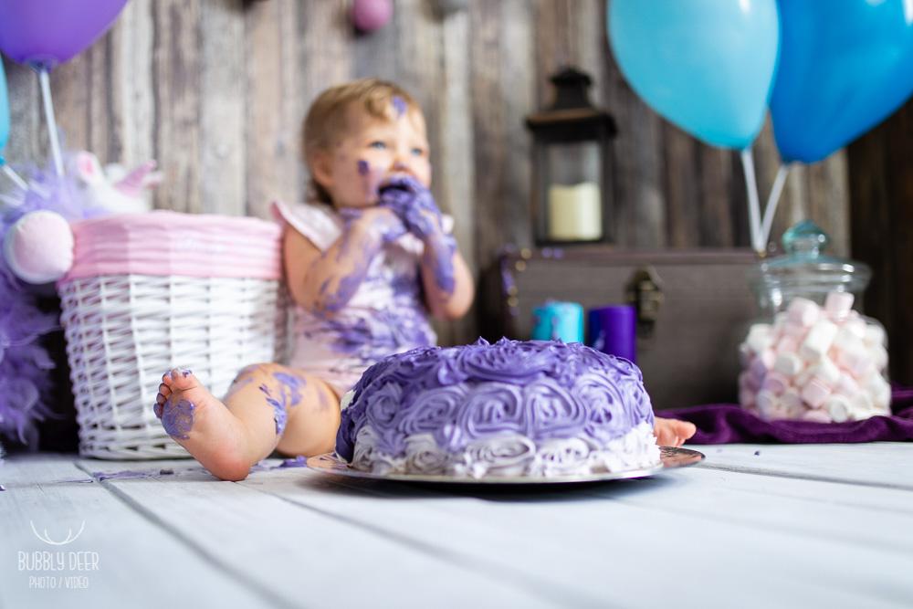 smash the cake Nantes bébé anniversaire