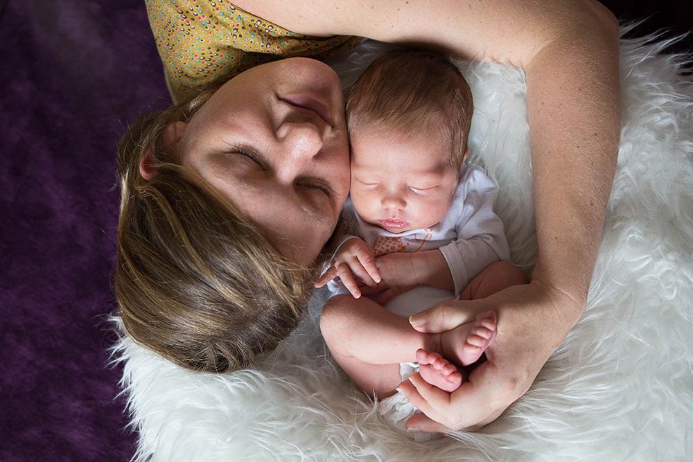 photographe naissance Nantes nouveau-né