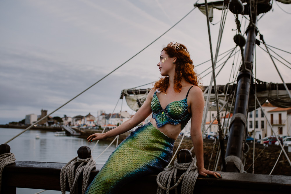 mermaid sirène photoshoot