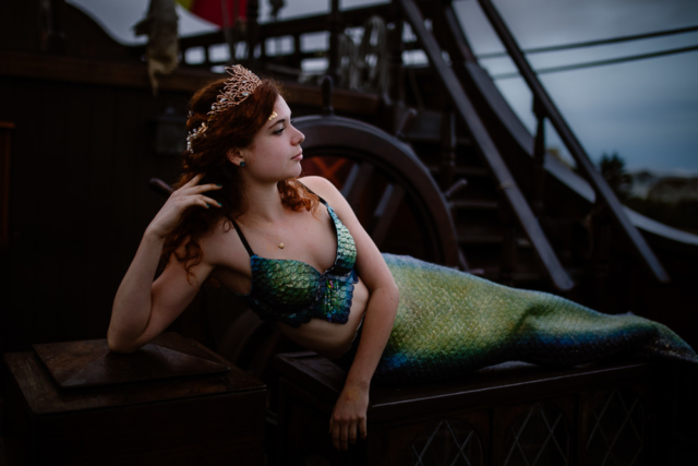 mermaid sirène shooting photo