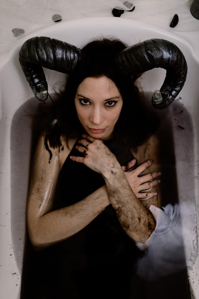 photographe nantes succube bain noir