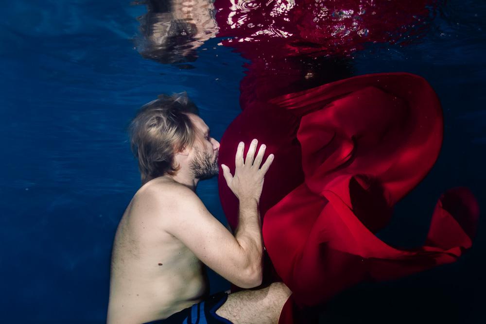 photographe aquatique underwater nantes grossesse