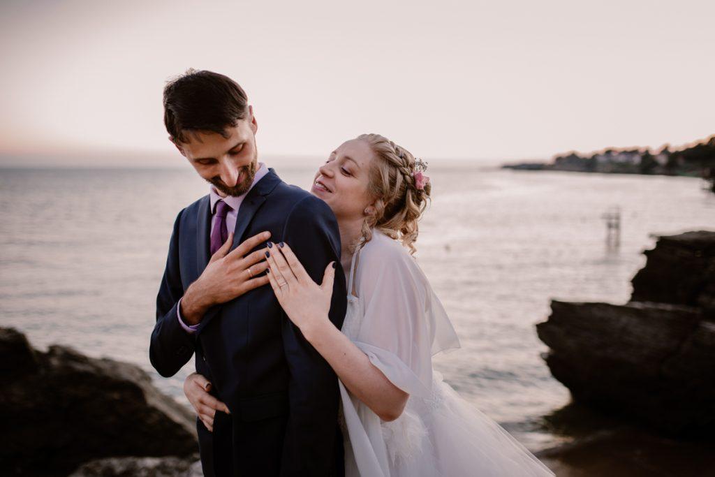 photographe pornic nantes mariage