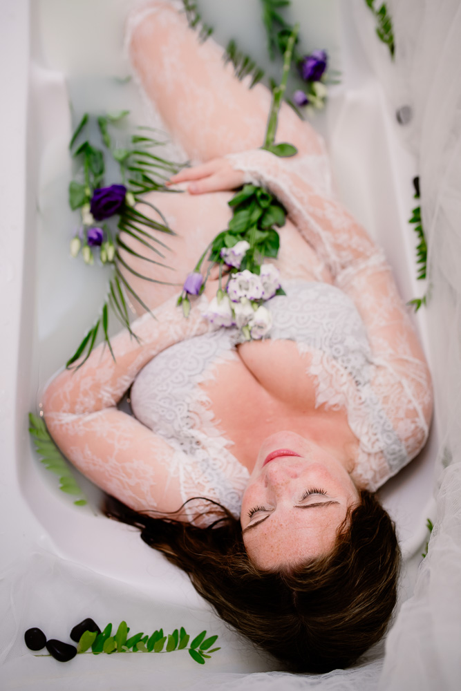 grossesse Nantes bain de lait