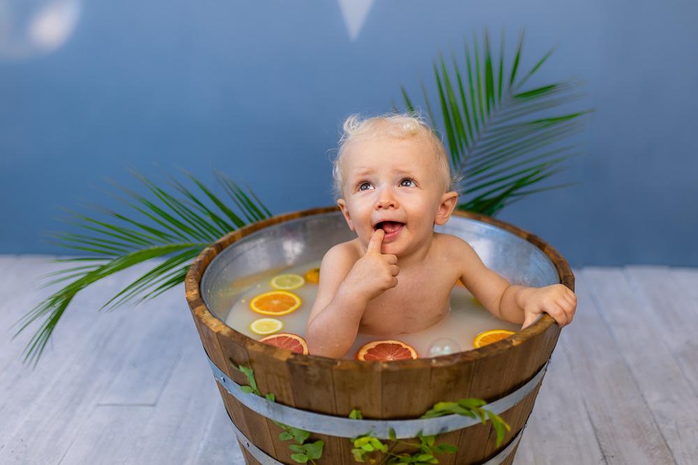 bain de lait bébé Nantes