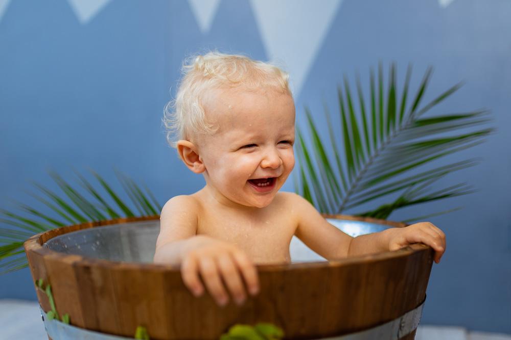 bain de lait bébé studio photographe