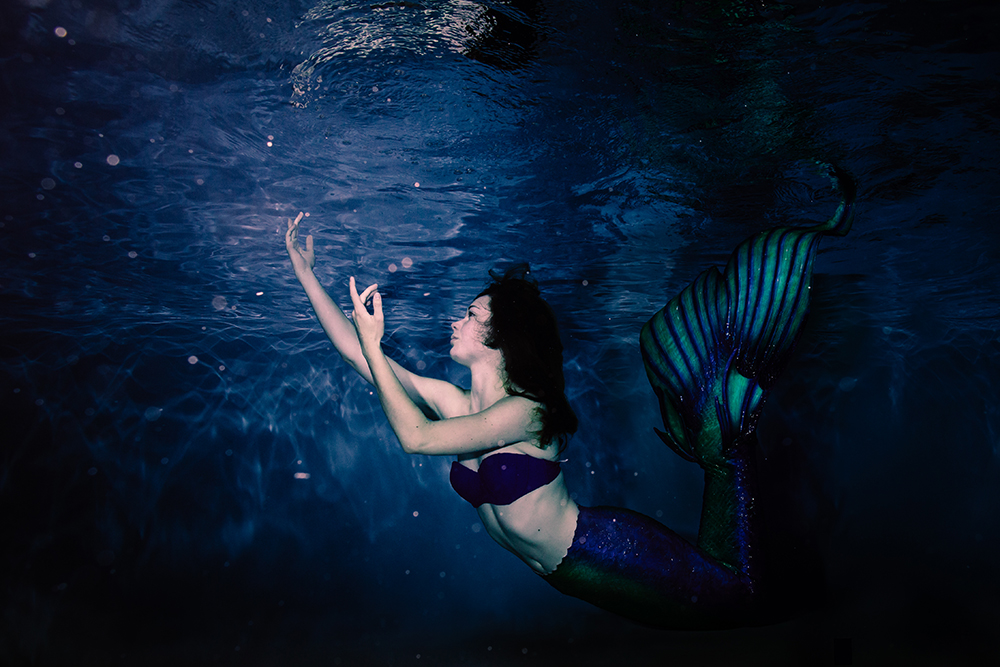 photographe aquatique mermaid underwater
