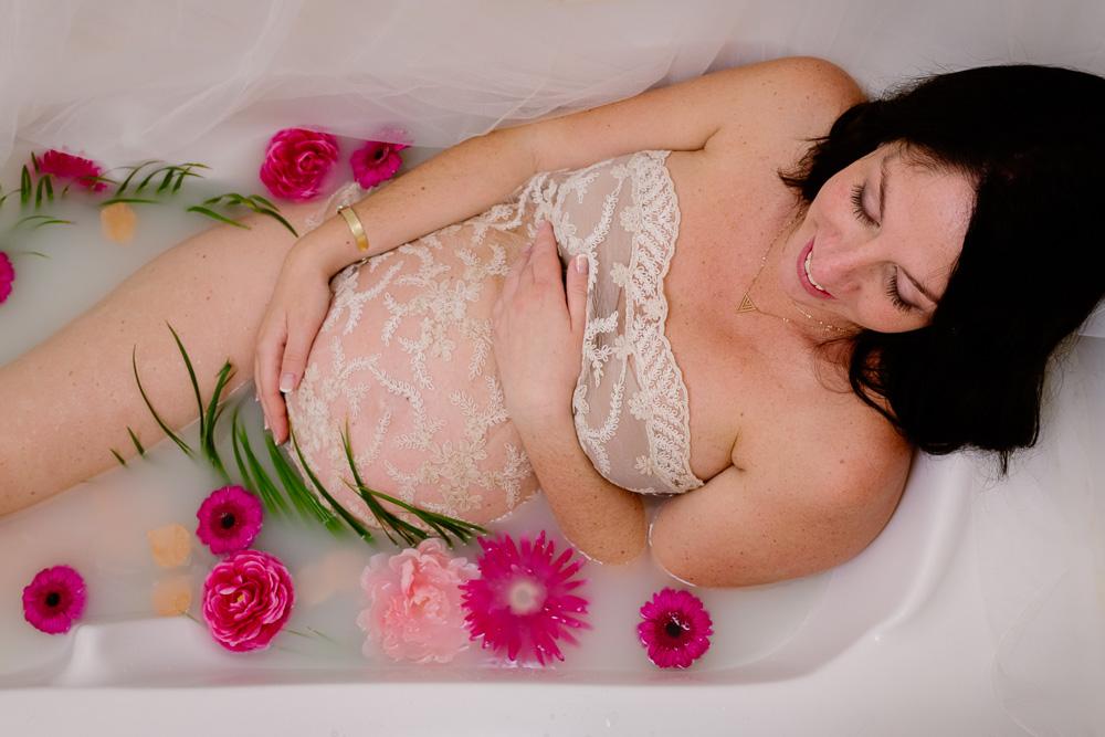 grossesse bain de lait Nantes