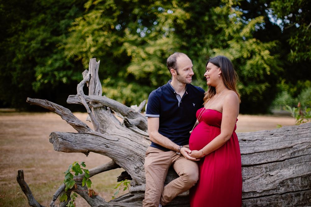 photographe grossesse extérieur carquefou