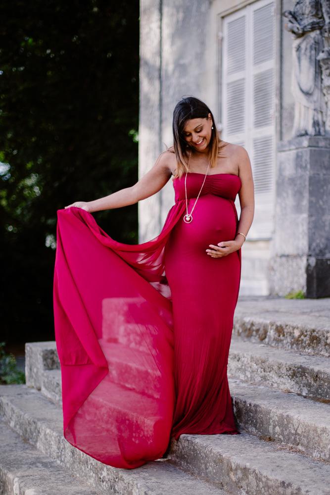 séance photo de grossesse à Carquefou