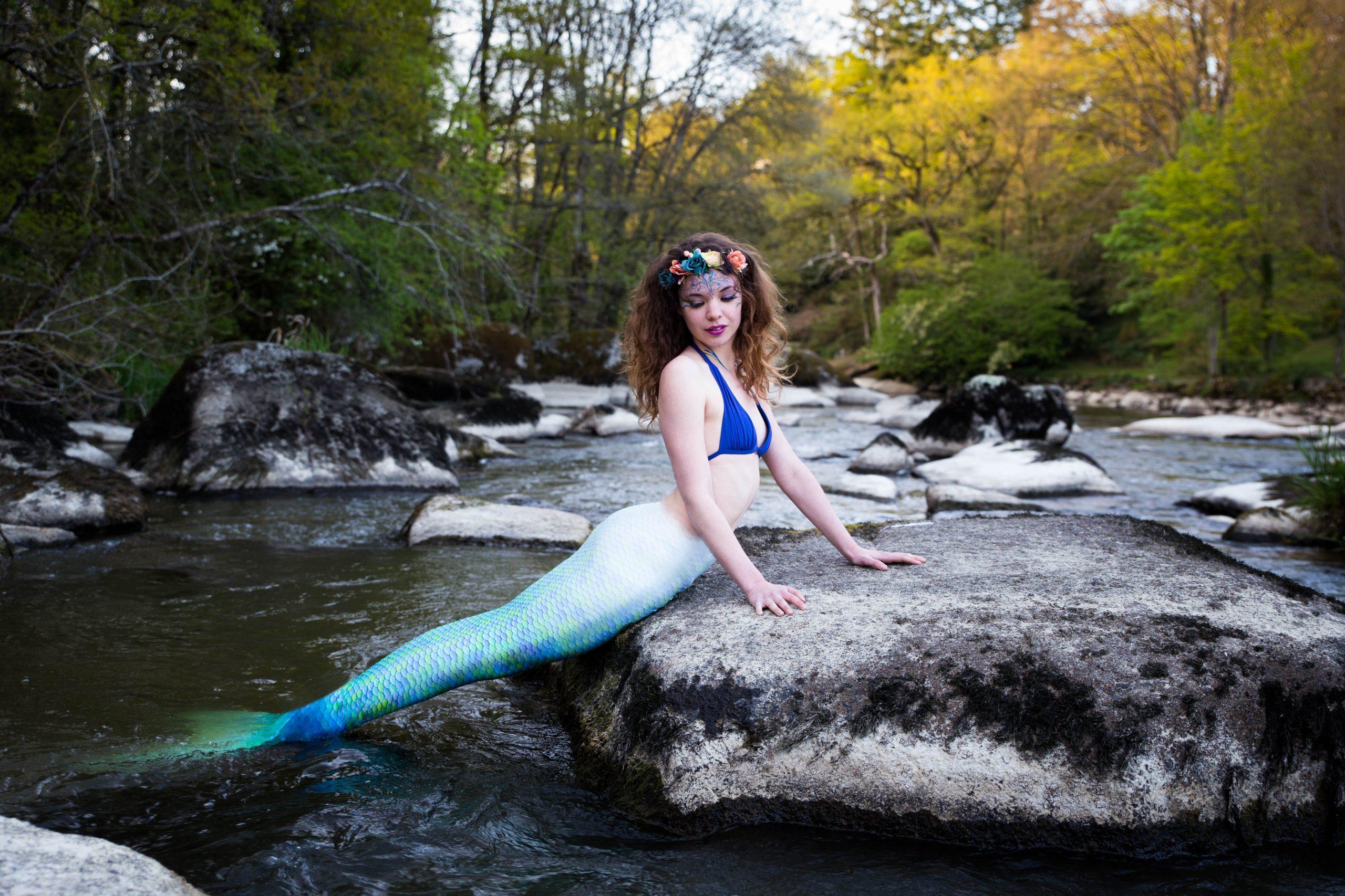 photo sirène Nantes mermaid