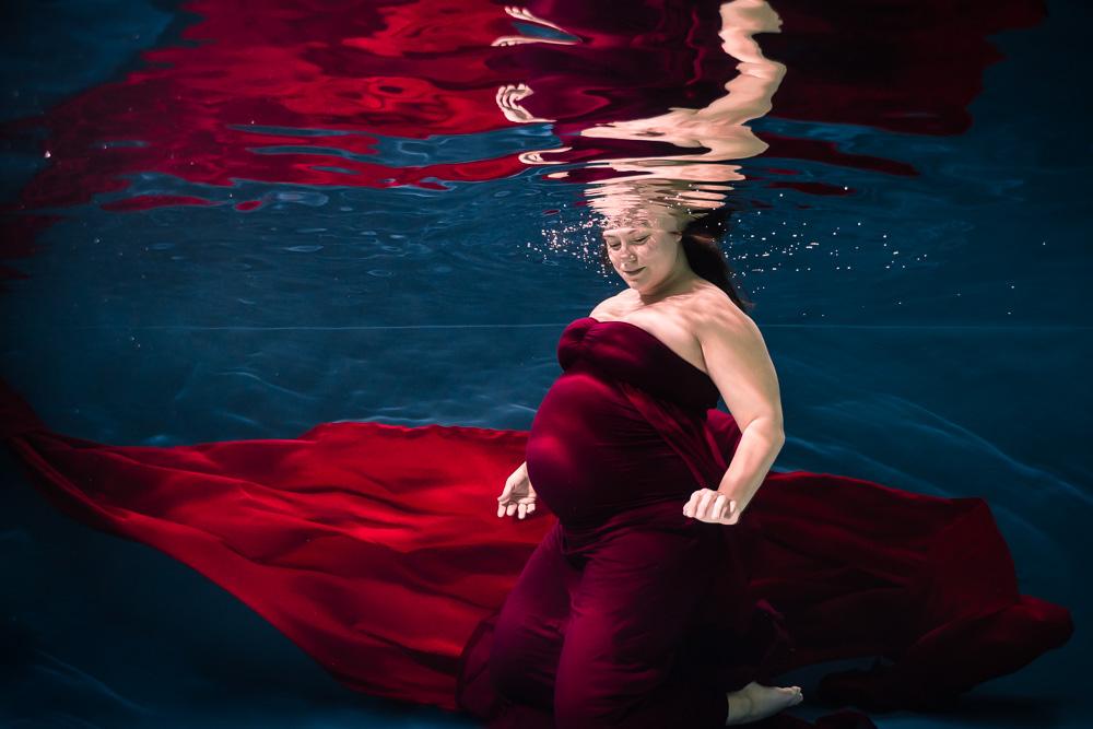 photographe maternité underwater Nantes