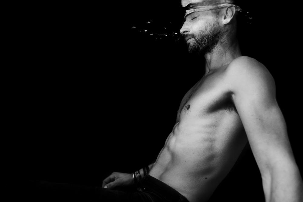 portrait homme Nantes piscine