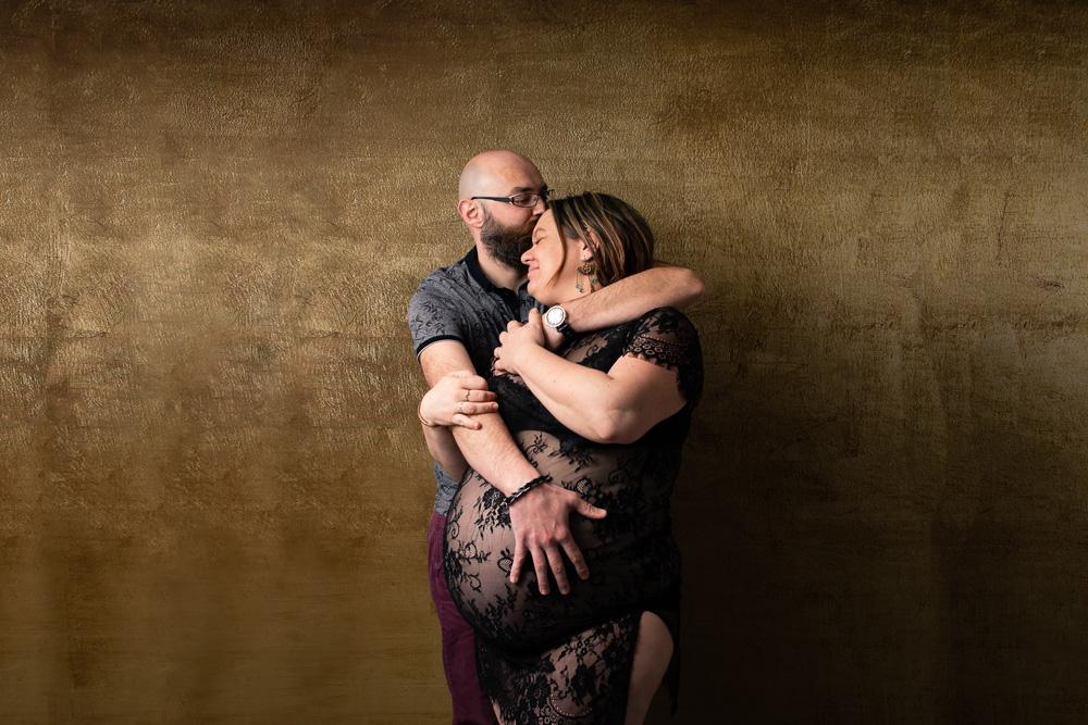photographe studio nantes future maman grossesse