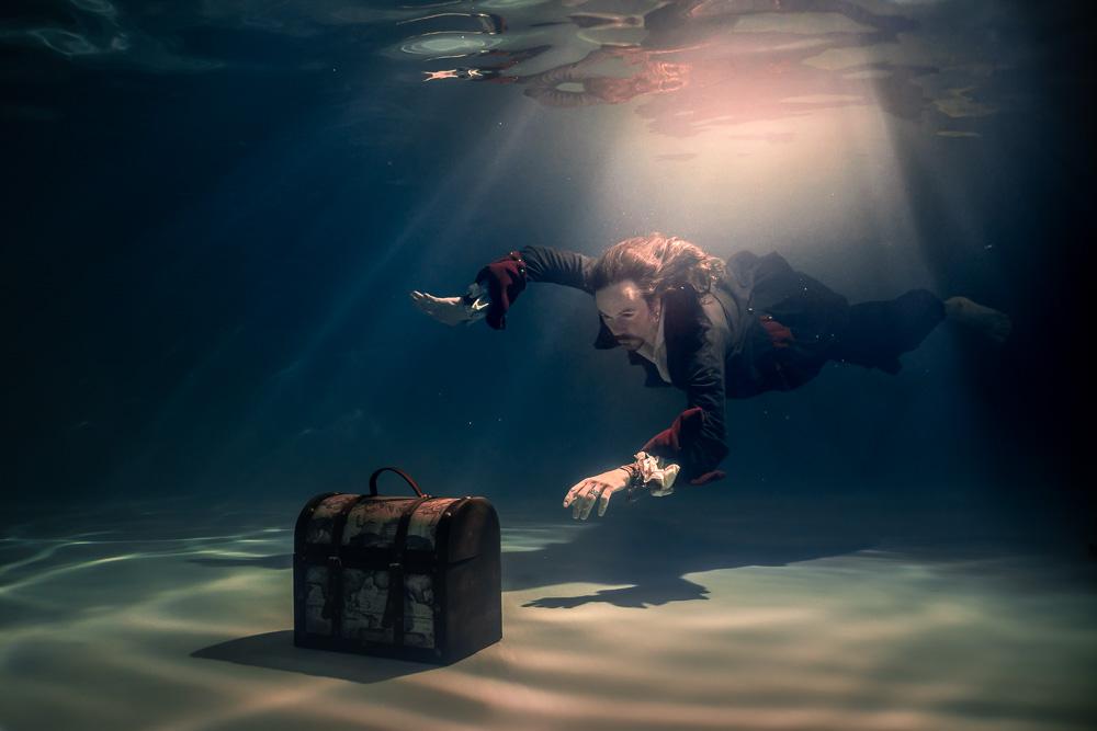 Pirates Underwater aquatique photo