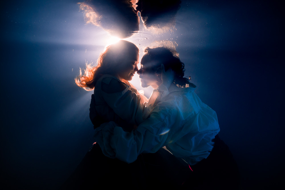 photographe aquatique couple nantes