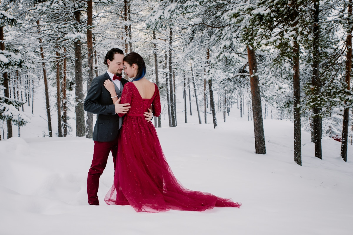 photographe mariage elopement hiver