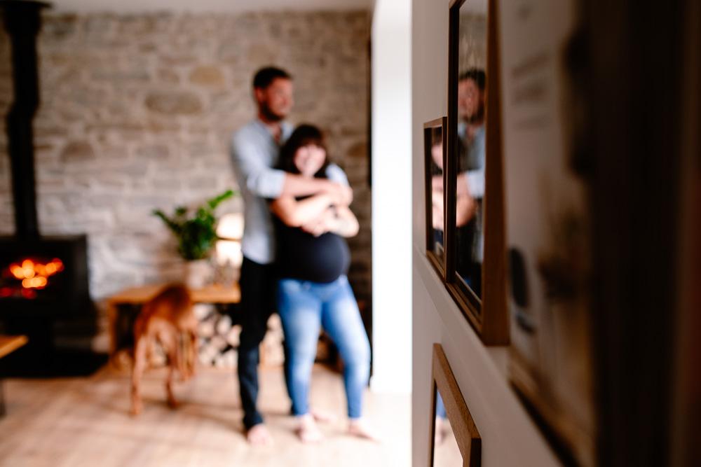 photographe grossesse lifestyle domicile