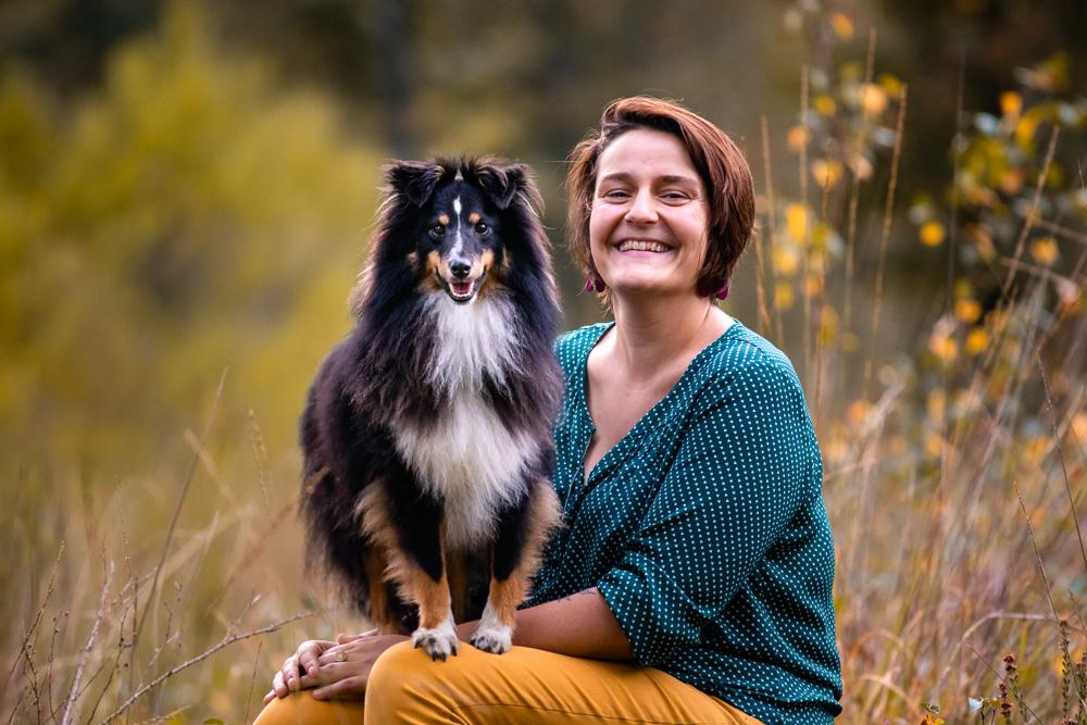 séance photo avec son chien Nantes