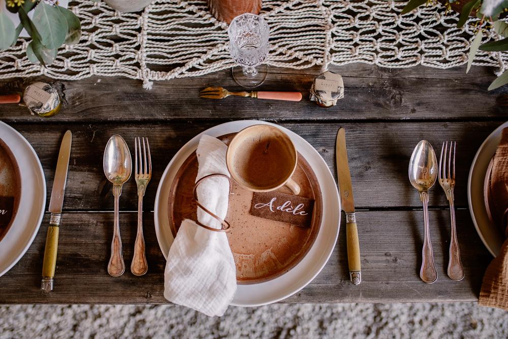 décoration mariage Nantes table