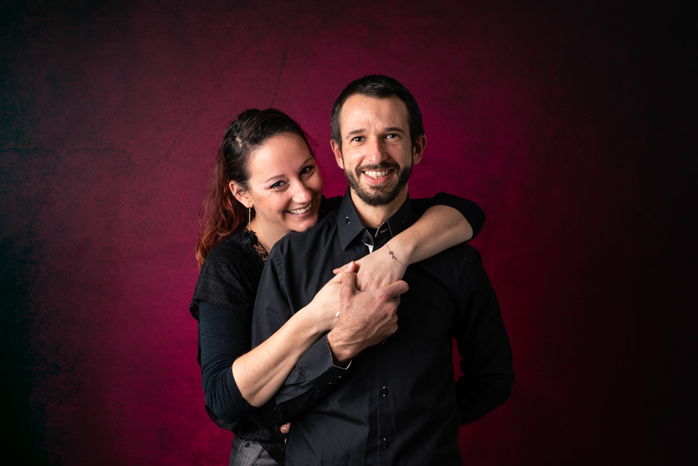 photographe couple Nantes studio photo love
