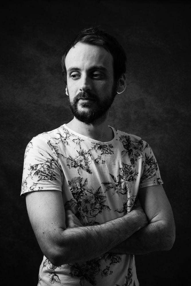 portrait homme studio Nantes