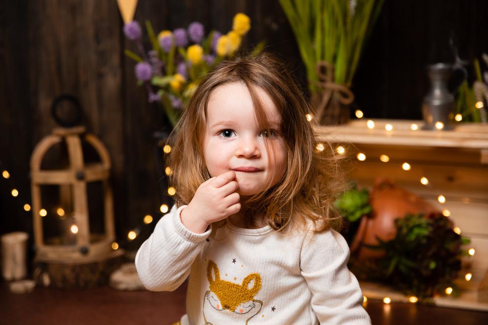 mini-séance photo pâques printemps bébé Nantes