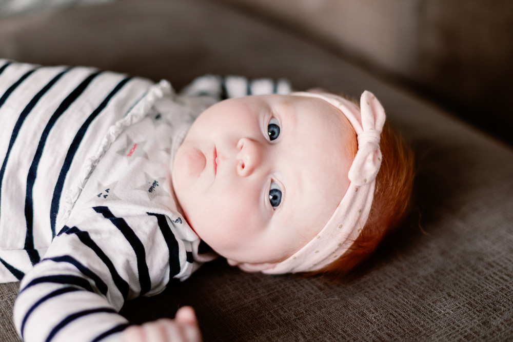 Séance photo bébé à domicile Loire Atlantique