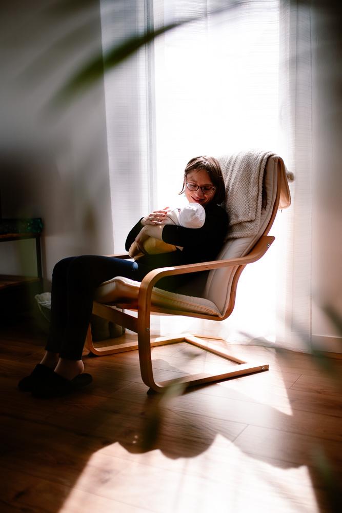 photographe naissance domicile lifestyle Nantes